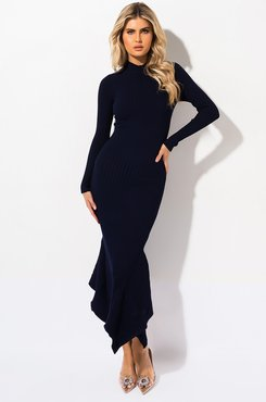 Sinfully Sweet Ribbed Maxi Dress