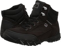 Nigata Tex (Black Rubber/Dark Brown Suede) Women's Lace up casual Shoes