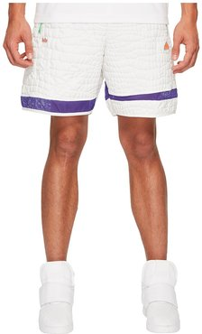Emboss Shorts (White) Men's Shorts
