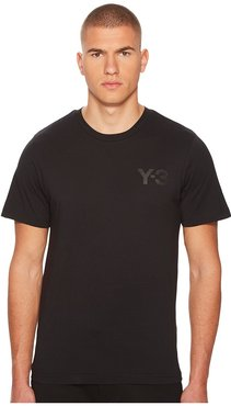 Classic S/S Tee (Black 1) Men's Short Sleeve Pullover