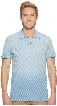 Kirra Short Sleeve Polo (10 Year Fade) Men's Short Sleeve Pullover