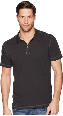 Cape Town Short Sleeve Polo (Stretch Limo) Men's Short Sleeve Pullover