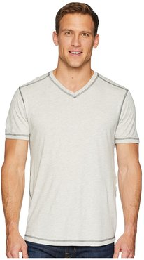Dawn Patrol Short Sleeve V-Neck (Heather) Men's Short Sleeve Pullover