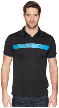 Paule Pro 1 10170972 (Black) Men's Short Sleeve Knit