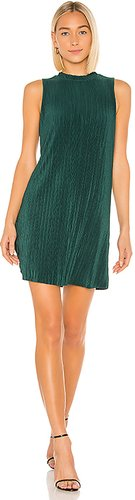 As You Pleats Knit Dress in Dark Green. - size S (also in L,M,XS)
