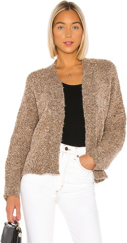 Comin' In Cozy Cardigan in Brown. - size XS (also in L,M,S)