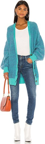 Snow Drop Cardigan in Blue. - size L (also in M,S,XS)