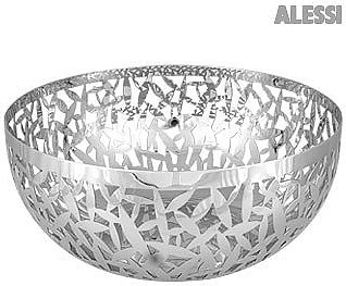 Kitchen & Dining Cactus Perforated Stainless Steel Fruit Bowl