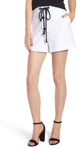 Park South Shorts, Size Small - White