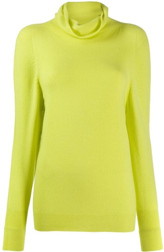 roll neck jumper - Yellow