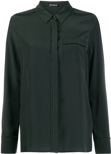 concealed front shirt - Green