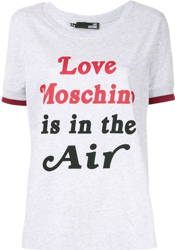 Love Is In The Air T-shirt - Grey