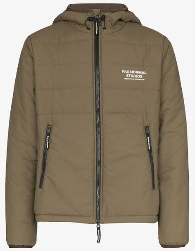 Olive green Off-Race Thermal jacket