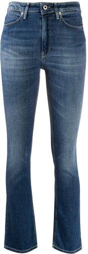 Charlotte mid-rise bootcut jeans - Blue