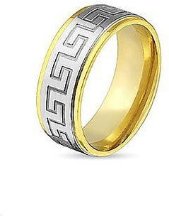 The Maze Gold Ring