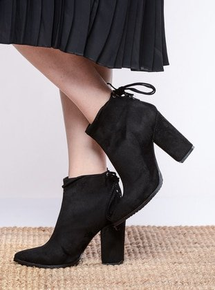 Black - Boot - Boots - Shoestime