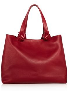 Iconic Knotted Medium Leather Tote