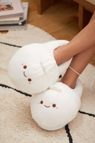 Heated Slipper - Beige at Urban Outfitters