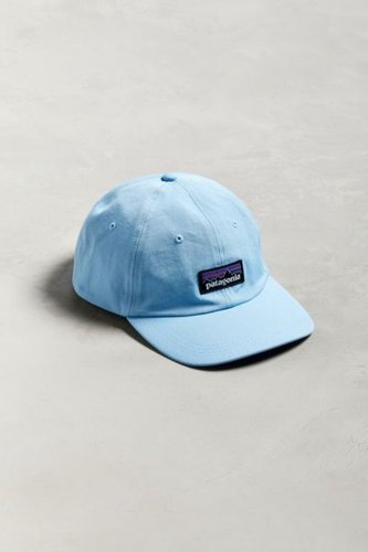 Patagonia P-6 Brand Logo Baseball Hat - Blue at Urban Outfitters