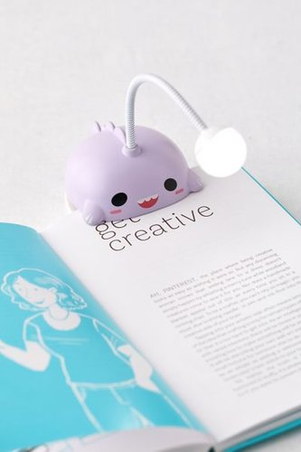 Book Light - Purple at Urban Outfitters