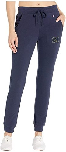 Michigan Wolverines University Lounge Pants (Navy) Women's Casual Pants