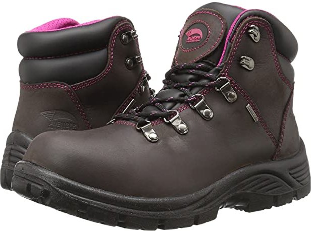 A7675 Soft Toe (Brown) Women's Work Boots