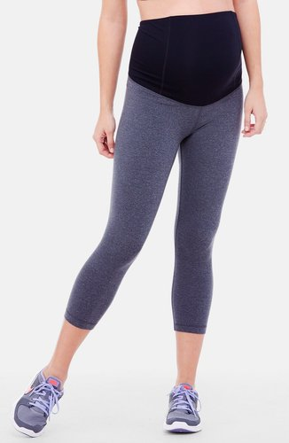 Ingrid & Isabel Active Maternity Capri Pants With Crossover Panel