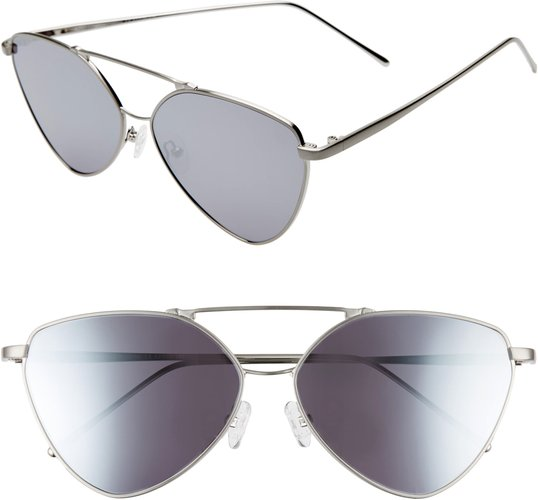 62Mm Wire Cat Eye Sunglasses - (Nordstrom Exclusive)