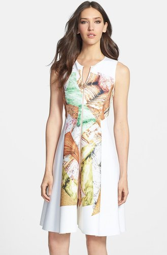 'Canyon Rocks' Neoprene Dress