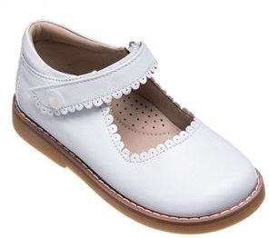 Scalloped Leather Mary Jane, Toddler/Kids