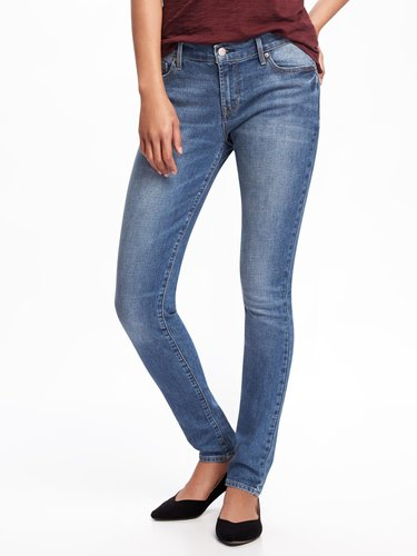 Mid-Rise Original Skinny Jeans for Women
