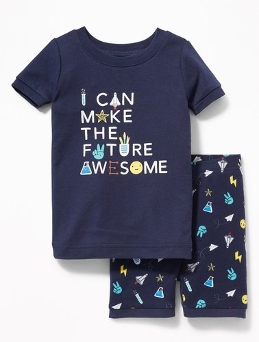 """I Can Make The Future Awesome"" Sleep Set For Toddler & Baby"