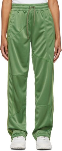 Green Deconstructed Lounge Pants