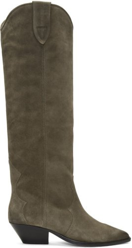 Taupe Washed Denvee Boots