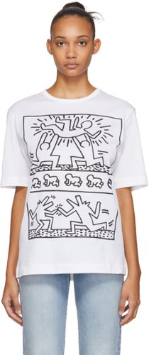 White Keith Haring Edition Unity T-Shirt