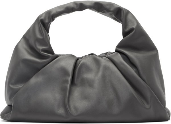 Grey Small Shoulder Pouch Bag