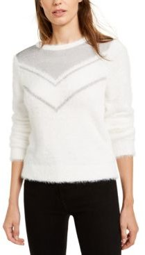 Chainmail-Trim Sweater, Created For Macy's