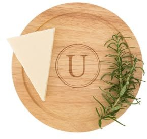Personalized Gourmet 5-Pc. Cheese Board Set with Utensils