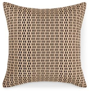 "Closeout! Hotel Collection Onyx 20"" x 20"" Decorative Pillow, Created for Macy's Bedding"