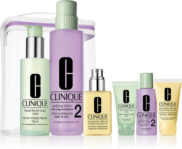 Great Skin Anywhere Set, Very Dry to Dry Combination ($98 Value)