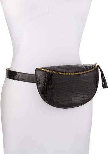 Crocodile Mini Zip Fanny Pack
