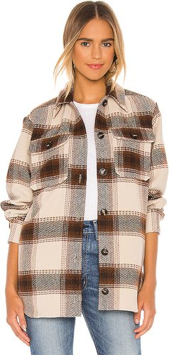 Lucky Lumber Jacket in Tan. - size S (also in XS,M)