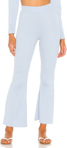 Adina Knit Pants in Baby Blue. - size XXS (also in M)