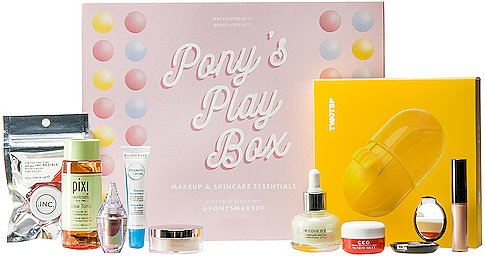 x Pony's Play Box Makeup & Skincare Essentials in Beauty: NA.