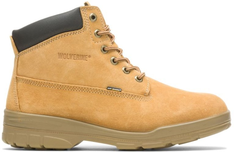 """Trappeur Waterproof Insulated 6"""" Boot Gold, Size 12 Medium Width"""