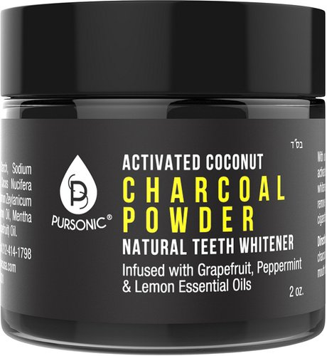 Pursonic Charcoal Powder 2oz Teeth Whitener