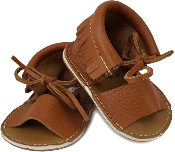 First Steps Leather Moccasins