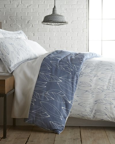 South Shore Linens Southshore Linens Modern Foliage Duvet Cover and Sham Set