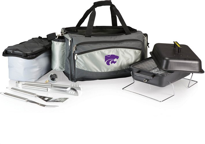 Kansas State Wildcats Vulcan Portable BBQ and Cooler Tote