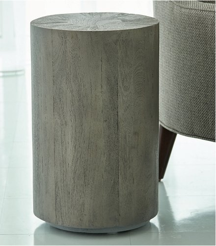 Global Views Driftwood Drum Table
